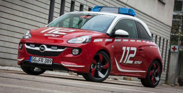 Opel Adam, el coche de los bomberos