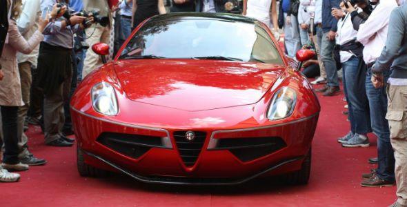 Alfa Romeo Disco Volante, premiado en el Villa d'Este