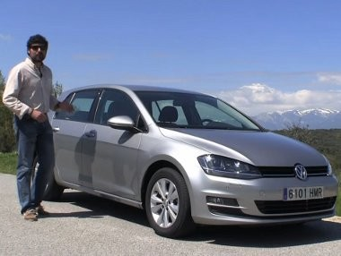 Vídeo prueba: Volkswagen Golf VII con cambio DSG