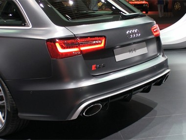Salón de Barcelona: Audi RS6