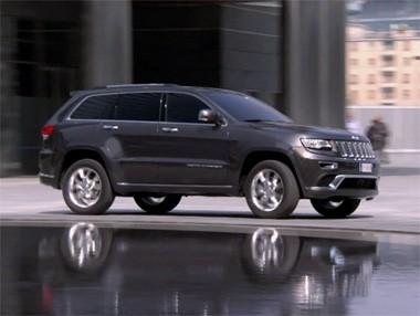 Así es el nuevo Jeep Grand Cherokee en movimiento