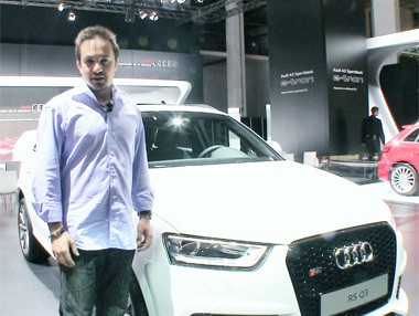 Salón de Barcelona: Audi RS Q3