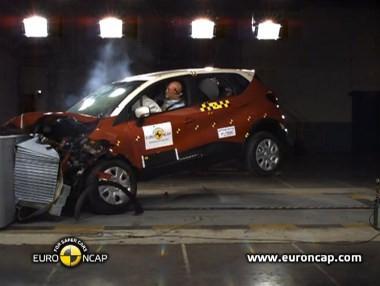 Euro NCAP: crash-test del Renault Captur