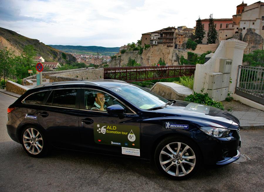 Mazda 6 2.2 diésel Style: 4.1 l/100km en el Ecomotion Tour ALD 2013