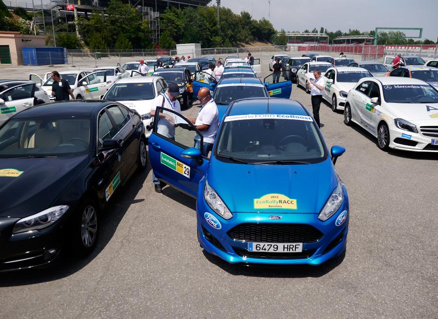 Ford Fiesta Ecoboost 125 Eco Rally Racc 2013, Montmeló, Rubén Fidalgo