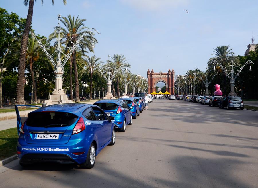 Ford Fiesta Ecoboost 125 Eco Rally Racc 2013, Barcelona, Rubén Fidalgo