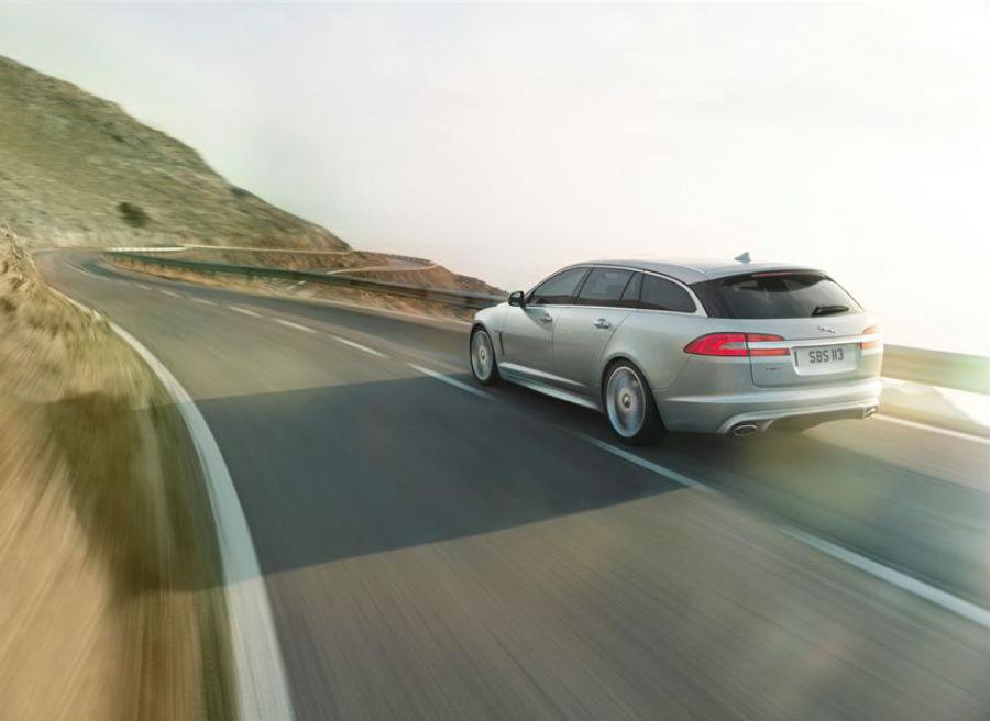 El Jaguar XF Sportbrake también recibe el nuevo motor diésel de la marca.