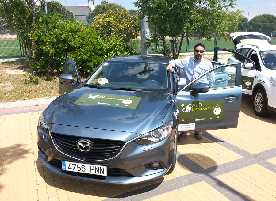 Mazda6 2.2 diesel style ALD Ecomotion Tour 2013