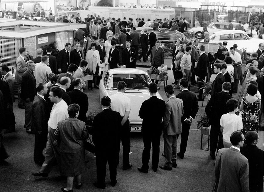 Porsche 911 Frankfurt 1963-2013 50 aniversario