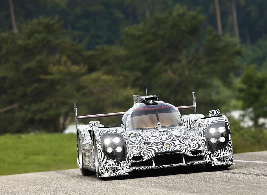Porsche LMP1 Le Mans