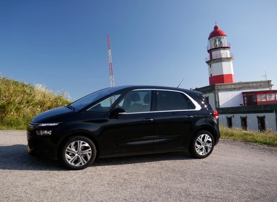Presentación y prueba nuevo Citroën C4 Picasso 2013, Cabo Silleiro, Rubén Fidalgo