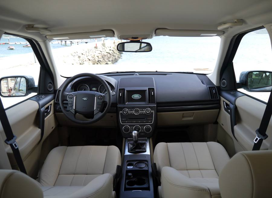 Prueba Land Rover Freelander 2 ED4 SE, interior, Rubén Fidalgo