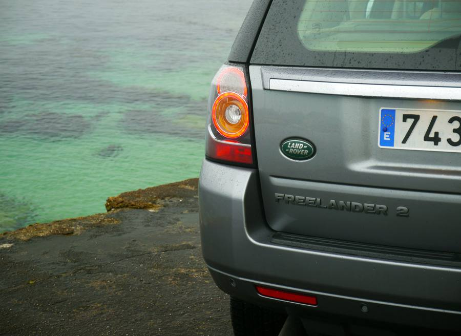 Prueba Land Rover Freelander 2 ED4 SE, Bueu, Rubén Fidalgo