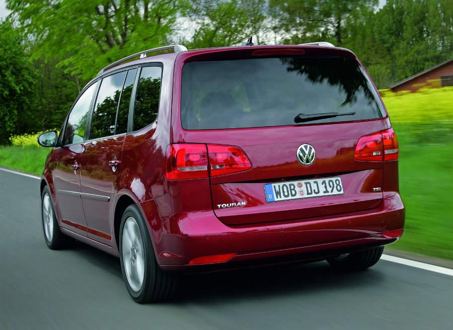 El Volkswagen Touran cuenta ahora con nuevas opciones de equipamiento.