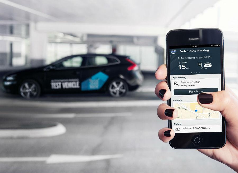 Una simple aplicación de móvil será suficiente para aparcar nuestro coche.