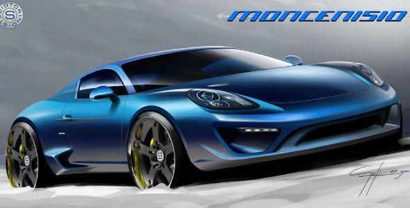 Moncenisio, el Porsche Cayman S de Studiotorino