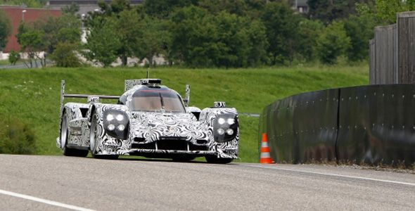 Primeras pruebas dinámicas del nuevo Porsche LMP1 de competición