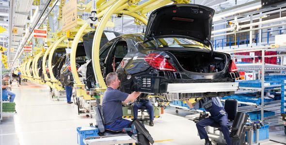 Daimler inicia la producción del nuevo Mercedes Clase S en Sindelfingen