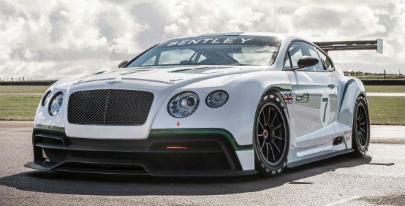Bentley Continental GT3, presentado oficialmente