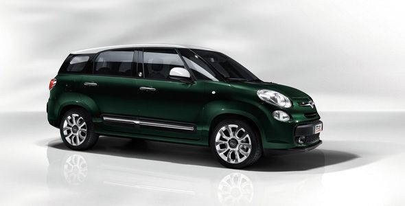 Fiat 500L Living: el 500 de siete plazas