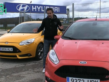 Comparativa: Ford Fiesta ST vs Ford Focus ST