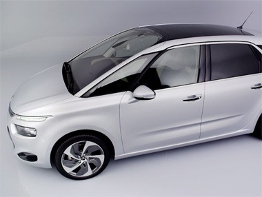 El nuevo Citroën C4 Picasso 2013, en movimiento