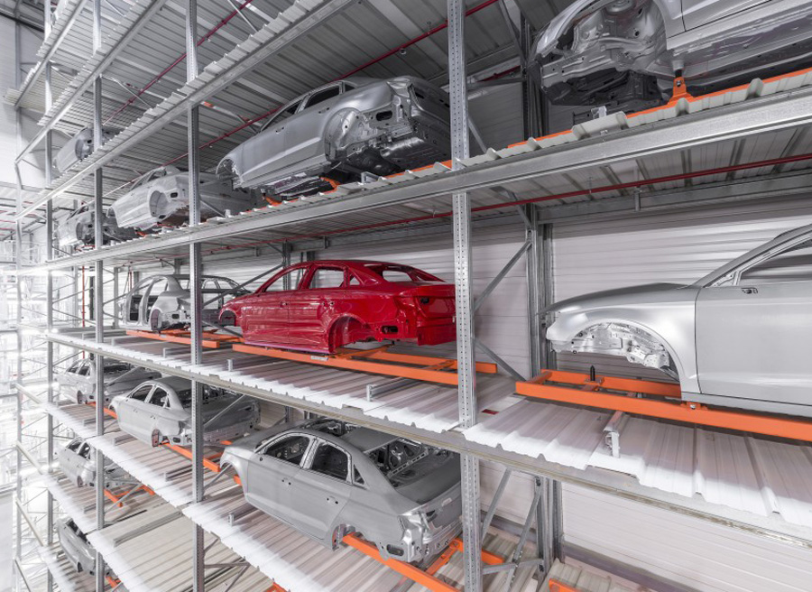 Audi A3 Sedan fábrica Györ