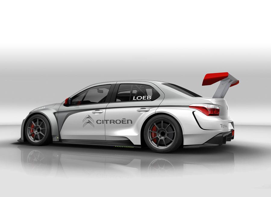 Citroën C-Elysée WTCC campeonato de turismos 2014