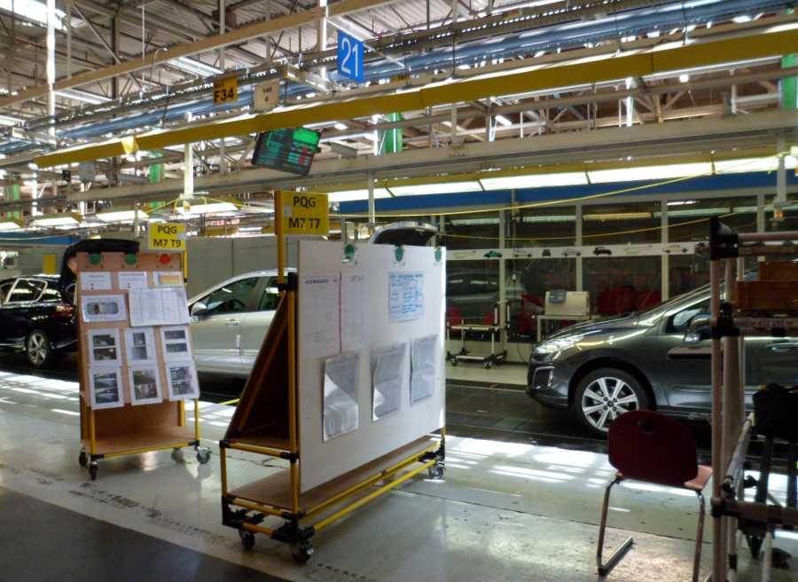 Nuevo Peugeot 308, fábrica de Sochaux