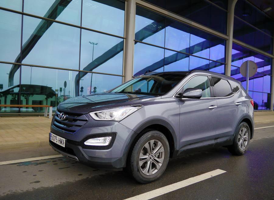 Prueba Hyundai Santa Fe 2WD 150 CV diesel 7 plazas, Virgen del Camino, Rubén Fidalgo