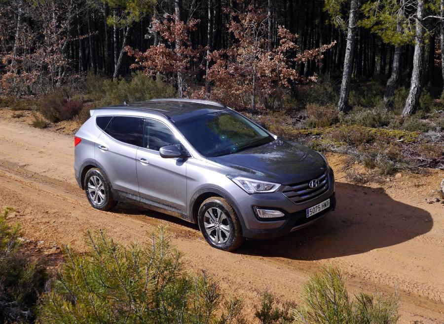 Prueba Hyundai Santa Fe 2WD 150 CV diesel 7 plazas, Villabalter, Rubén Fidalgo