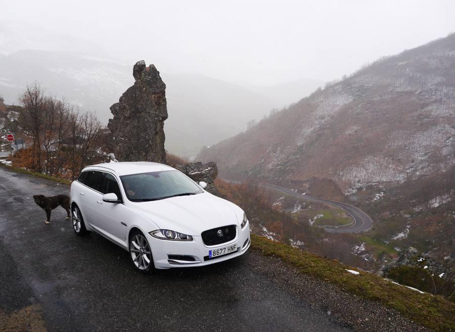 Prueba Jaguar XF Sbrake 3.0 V6 diesel 240 CV, Aralla, Rubén Fidalgo
