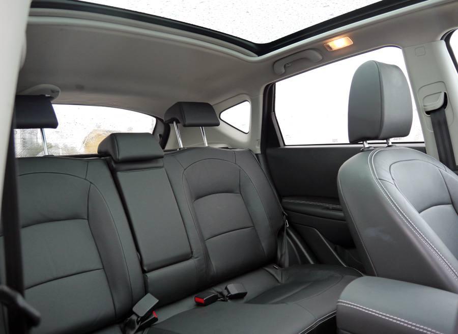Prueba Nissan Qashqai 4WD dci 130 CV, interior, Rubén Fidalgo