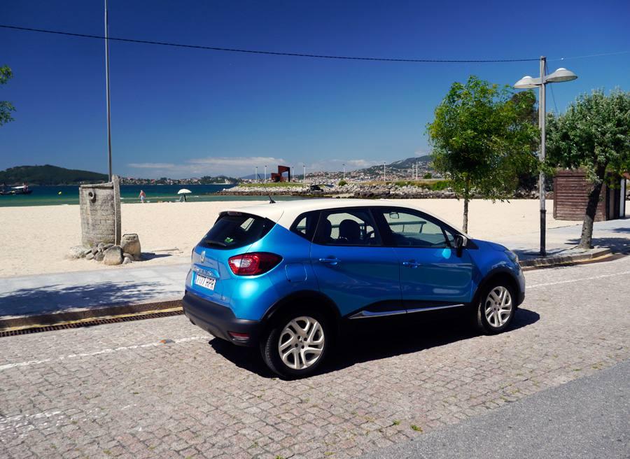 Prueba comparativa Renault Capture Zen TCe 90 CV, Baiona, Rubén Fidalgo