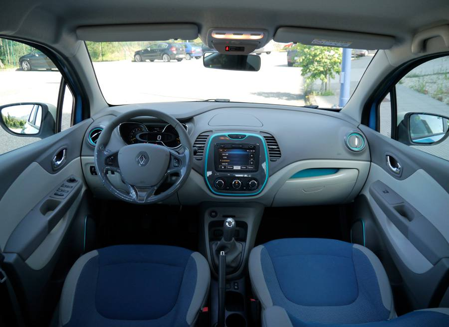 Prueba comparativa Renault Capture Zen TCe 90 CV, interior, Rubén Fidalgo
