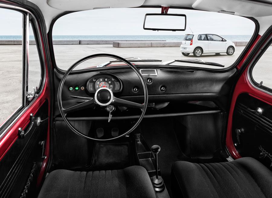 Seat 600 vs Seat Mii, interior Seat 600