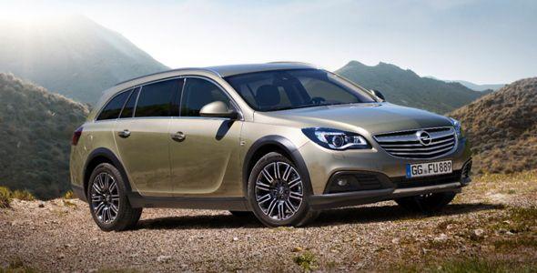 Opel Insignia Country Tourer: el Insignia más campero