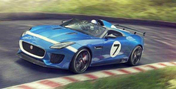 Jaguar Project 7, presentado en Goodwood
