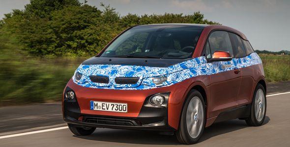 El BMW i3 eléctrico aumenta a 300 km su autonomía