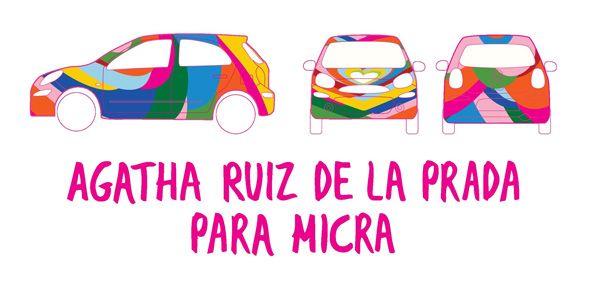 Nissan Micra Agatha Ruiz de la Prada, a la venta en septiembre
