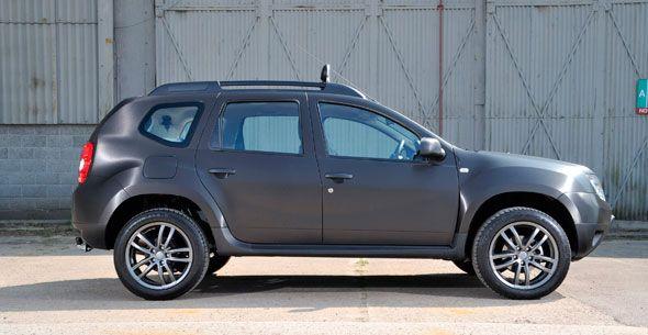 Nuevo Dacia Duster Black Edition 2013 para Reino Unido