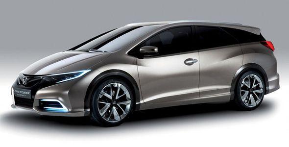 Honda Civic Tourer: primer modelo de la marca con suspensión adaptativa trasera