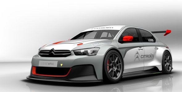 El Citroën C-Elysee WTCC: así es el coche de Sébastien Loeb