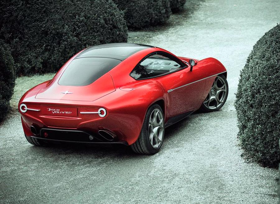 Alfa Romeo Disco Volante ganador Villa d Este 2013