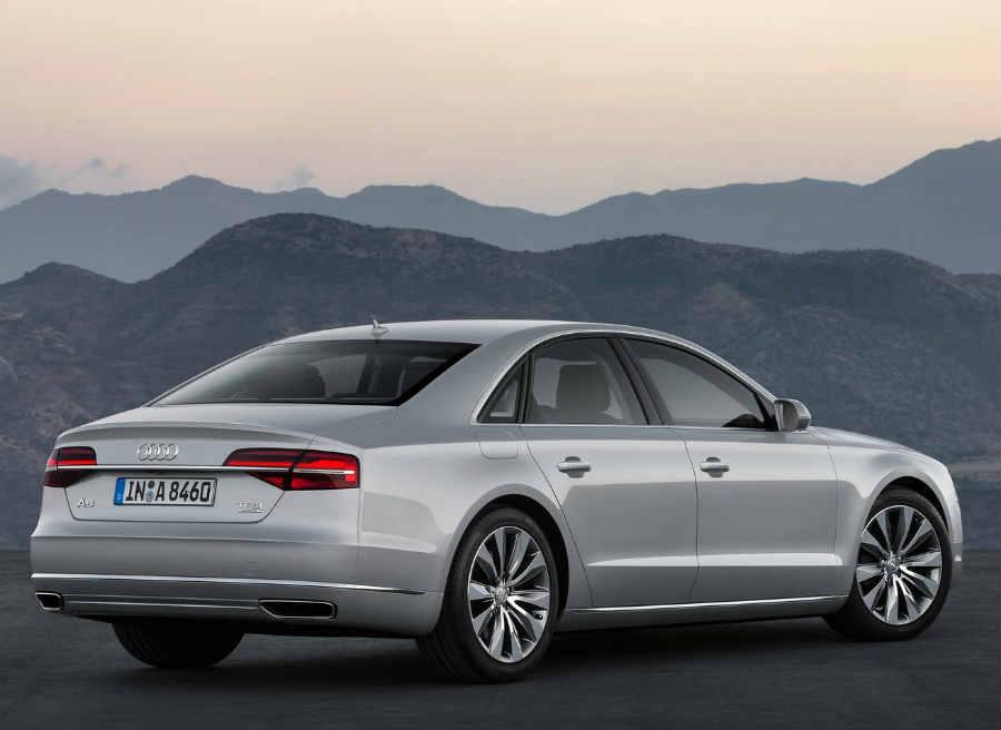 El nuevo Audi A8 llegará a los concesionarios a finales de este mismo año.