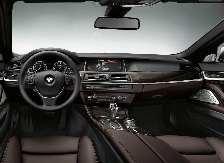 Así es el interior del nuevo BMW Serie 5.