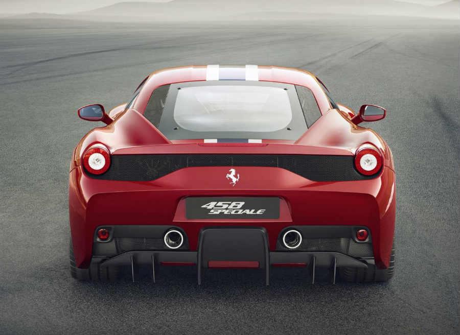 La zaga del Ferrari 458 Speciale es, simplemente, espectacular.