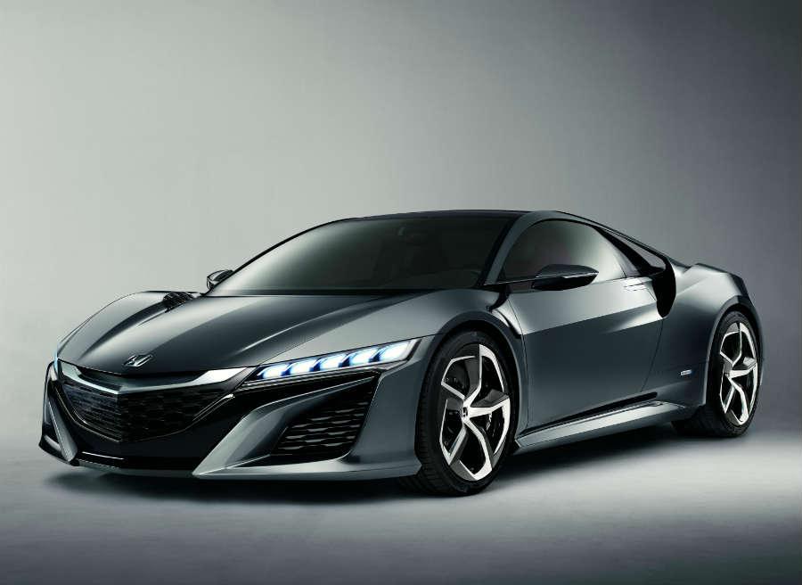 El Honda NSX Concept puede presumir de ser uno de los coches más espectaculares del Salón de Frankfurt.