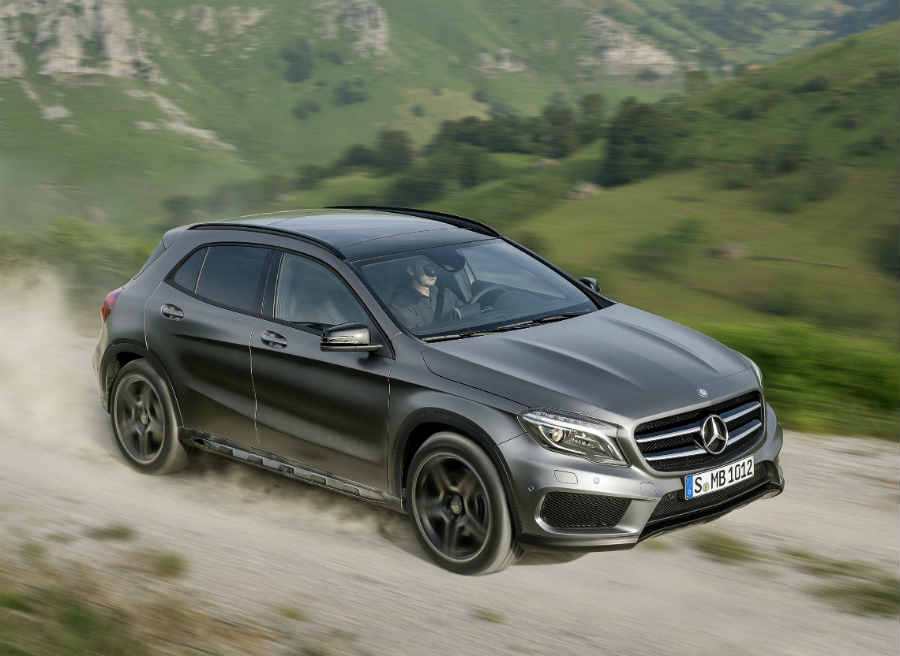 Ideal para el uso diario y permite escapadas a la montaña. Así es el Mercedes GLA.