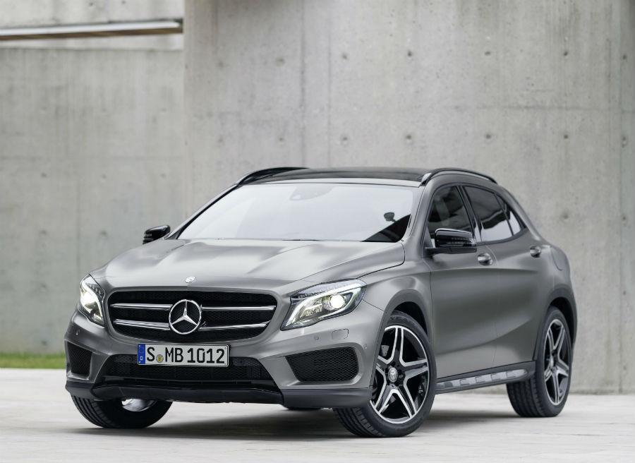 El Mercedes GLA llegará a los concesionarios en enero de 2014.